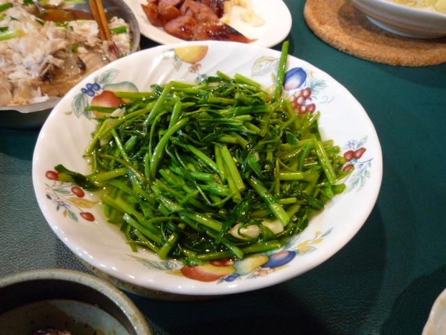 野菜料理(キャベツ炒め)